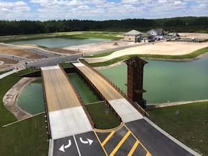 Union Park Timber Bridge Construction Project