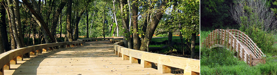 Timber Bridge Construction Image #4